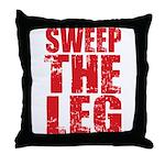 Sweep The Leg Throw Pillow