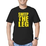 Sweep The Leg Men's Fitted T-Shirt (dark)