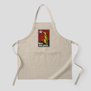 Vintage Frog Coffee Ad Apron