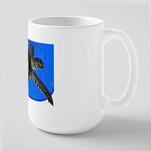Sea Turtle on Large Mug