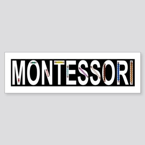 Montessori Math Beads Sticker (Bumper)
