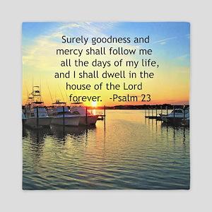 23RD PSALM Queen Duvet