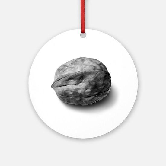 WALNUT Ornament (Round)