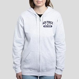 Air Force Girlfriend Women's Zip Hoodie