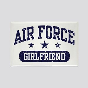 Air Force Girlfriend Rectangle Magnet