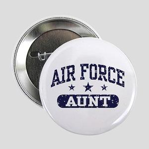 "Air Force Aunt 2.25"" Button"