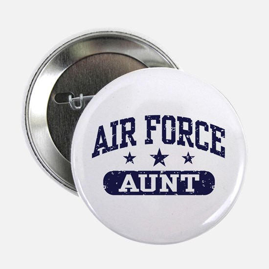 "Air Force Aunt 2.25"" Button"