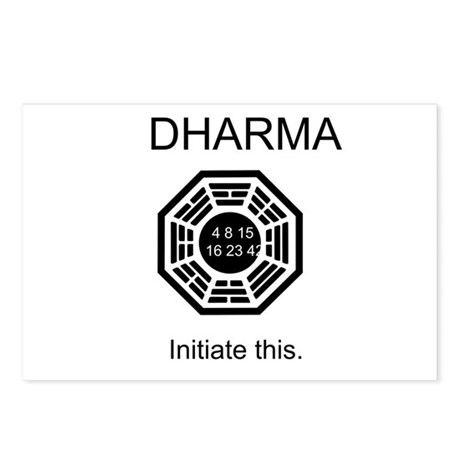 Dharma - Initiate This Postcards (Package of 8)