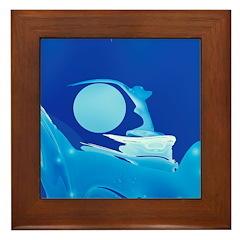 Diana Framed Tile