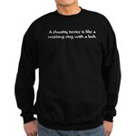 A Chastity Device... Sweatshirt (dark)