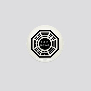 Dharma Logo Solo Mini Button