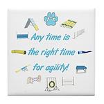 Agility Time Tile Coaster
