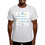 Agility Time Ash Grey T-Shirt
