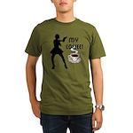 My Coffee Organic Men's T-Shirt (dark)