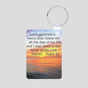 23RD PSALM Aluminum Photo Keychain