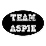 Team Aspie Sticker (Oval)