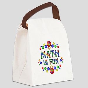 Math is Fun Canvas Lunch Bag