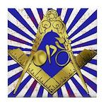 Freemason Cycling Club Tile Coaster
