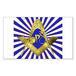 Freemason Cycling Club Sticker (Rectangle)