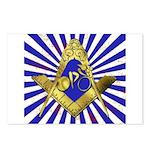 Freemason Cycling Club Postcards (Package of 8)