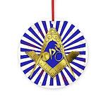Freemason Cycling Club Ornament (Round)