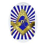 Freemason Cycling Club Ornament (Oval)