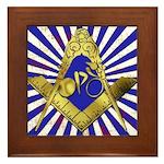 Freemason Cycling Club Framed Tile
