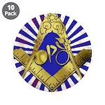 "Freemason Cycling Club 3.5"" Button (10 pack)"