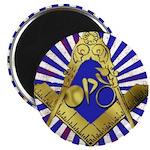 "Freemason Cycling Club 2.25"" Magnet (100 pack)"