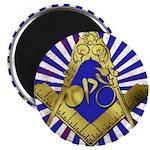"Freemason Cycling Club 2.25"" Magnet (10 pack)"