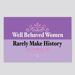 Well Behaved Postcards (Package of 8)