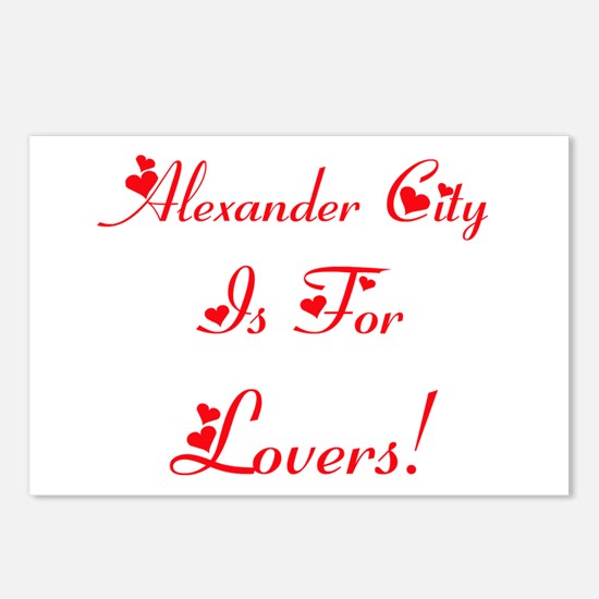 Alexander City Is For Lovers! Postcards (Package o