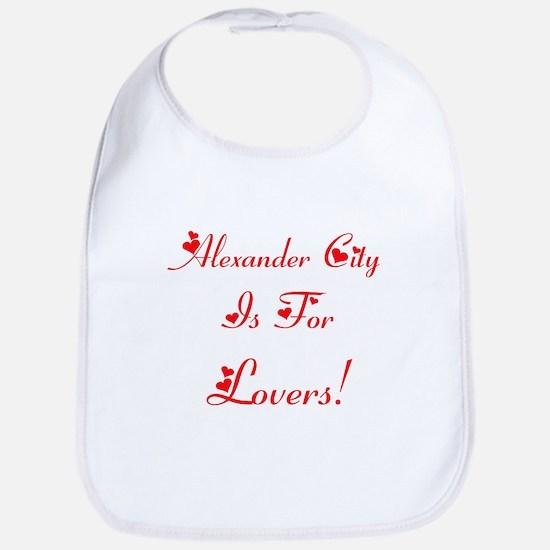 Alexander City Is For Lovers! Bib