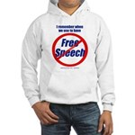 FREE SPEECH Hooded Sweatshirt