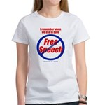 FREE SPEECH Women's T-Shirt