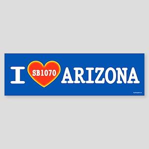I Heart Arizona Sticker (Bumper)