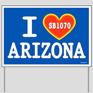 I Heart Arizona Yard Sign