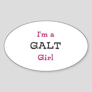 Galt Girl Sticker (Oval)