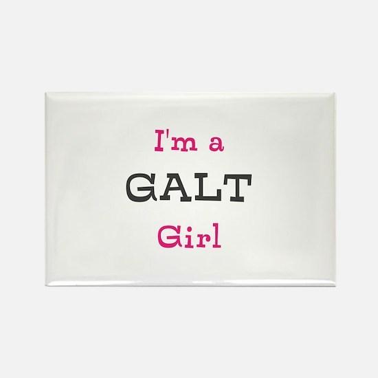 Galt Girl Rectangle Magnet