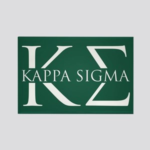 Kappa Sigma Rectangle Magnet