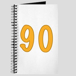 90th Birthday (Orange) Journal