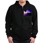 Statue of Liberty Sail NYC Sweatshirt Zip Hoodie