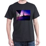 New York Sailing NY Statue of Liberty Dark T-Shirt