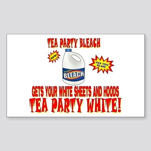 TEA PARTY BLEACH Sticker (Rectangle)