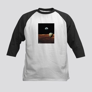 Fly Me to the Moon Kids Baseball Jersey