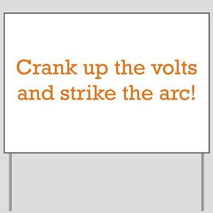 Volts! Yard Sign