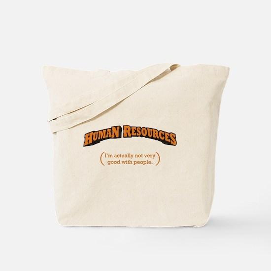 HR / People Tote Bag