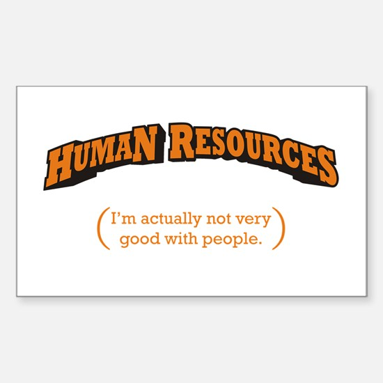 HR / People Sticker (Rectangle)