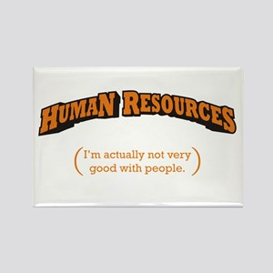 HR / People Rectangle Magnet