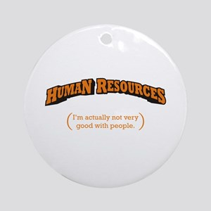 HR / People Ornament (Round)